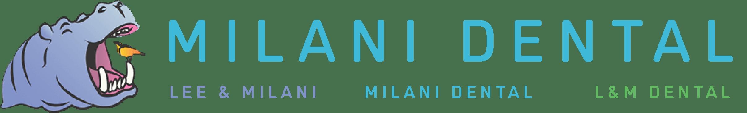milani dental logo transparent